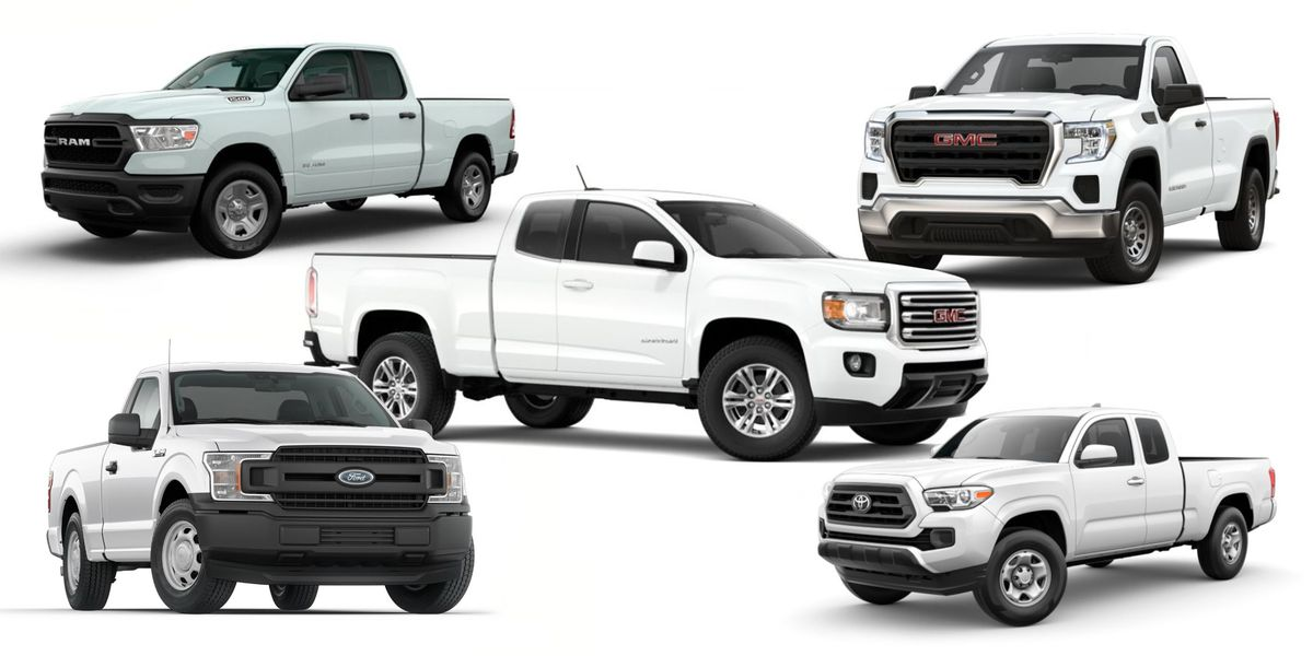 10 pickup trucks you can still get under $35,000