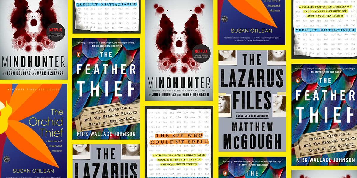 25 True Crime Books That'll Make You Want to Sleep With the Lights On