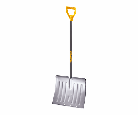Traditional snow shovel