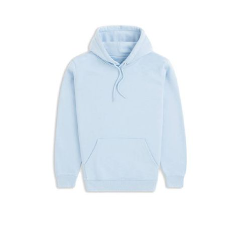 no label   wood jersey cotton in light blue