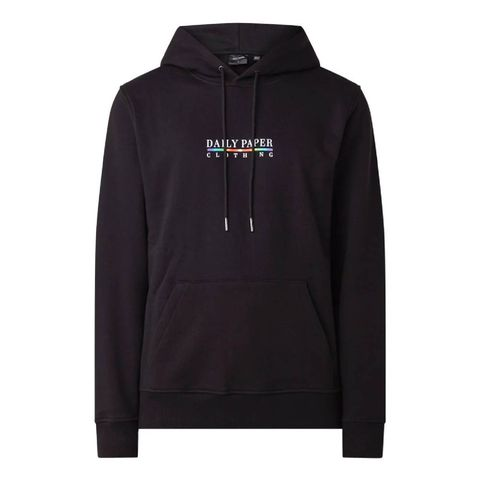 daily paper jabla hoodie met logoprint