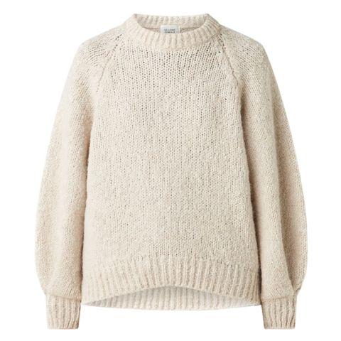 wollen trui   gebreid