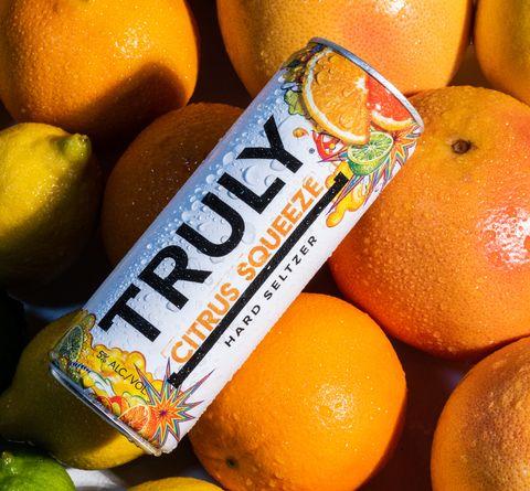 truly citrus squeeze seltzer
