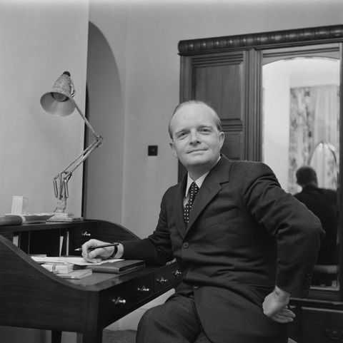 american novelist truman capote 1924   1984, uk, 9th march 1966 photo by evening standardhulton archivegetty images