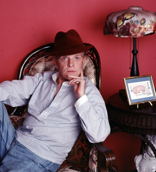 author, screenwriter and playwright truman capote photographed in his united nations plaza residence in 1980 photo by jack mitchellgetty images