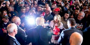 Donald Trump Holds Campaign Rally In Rochester, NY