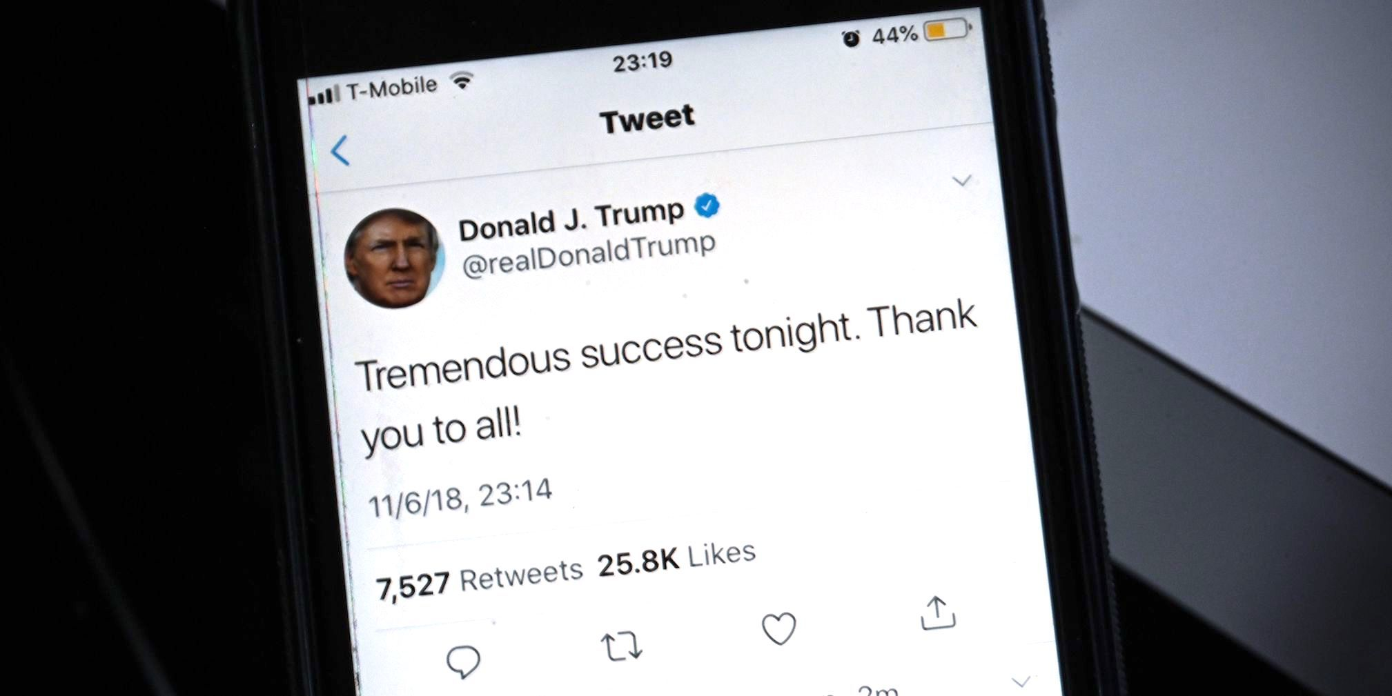 Looks Like the President* Just Committed a Crime in Your Twitter Feed