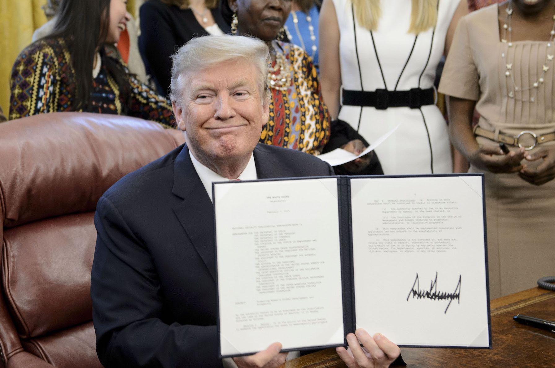 The Hunt for Donald Trump's Tax Returns Has Begun