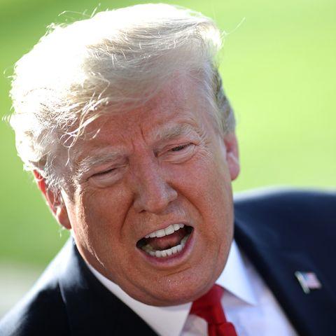 President Donald Trump Departs White House En Route To Colorado