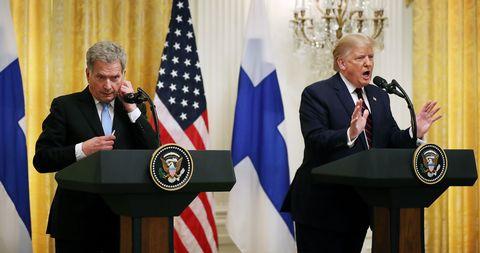 Trump Finnland