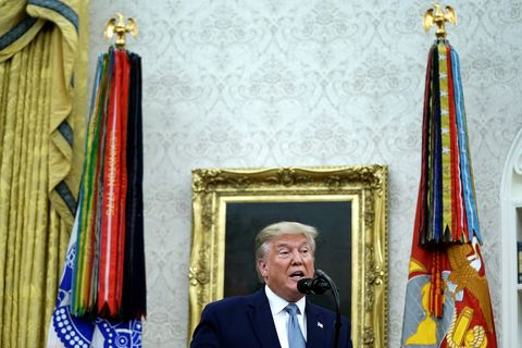President Donald Trump Awards The Medal Of Freedom To Former Attorney General Edwin Meese