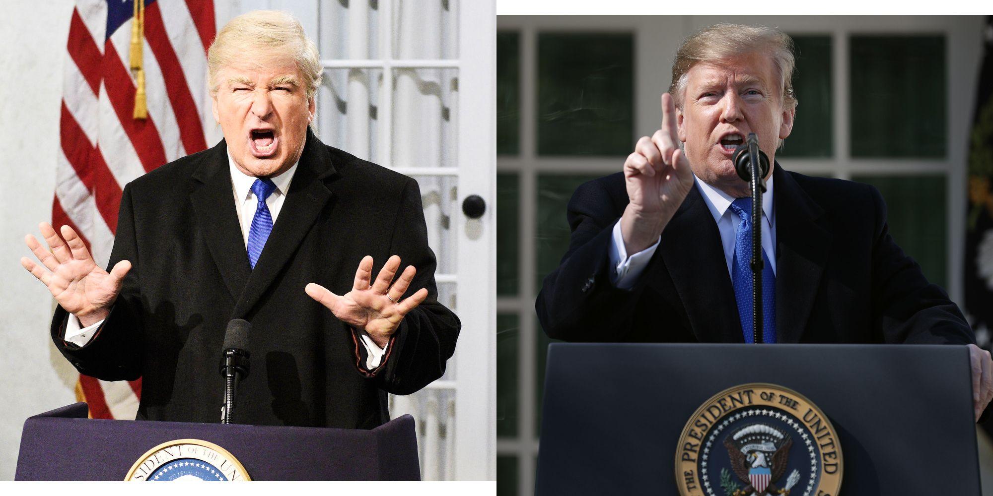 Donald Trump news latest Alec Baldwin