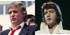 Donald Trump Elvis