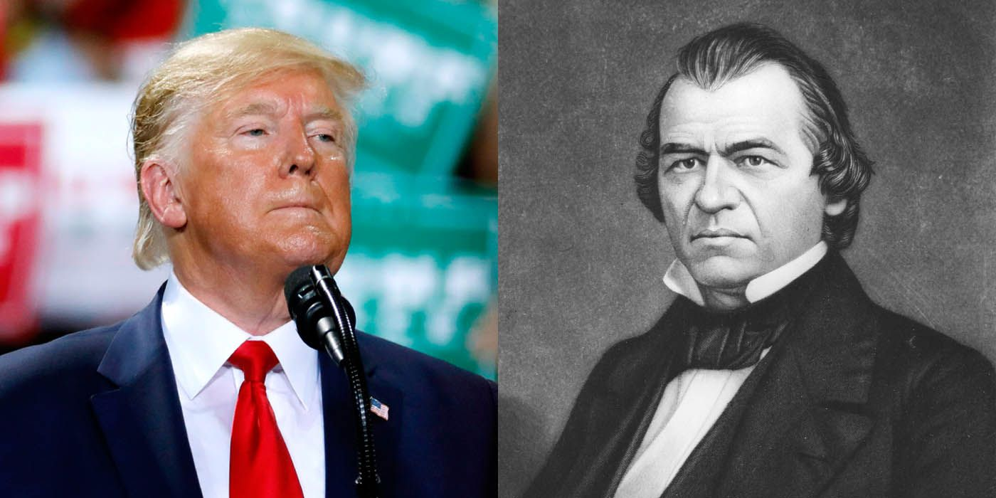 Forget Bill Clinton. The Analogue for Trump's Impeachment Is Andrew Johnson.