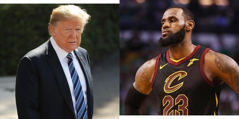 96ac8da61780 LeBron James Says  No One Wants an Invite  to the White House