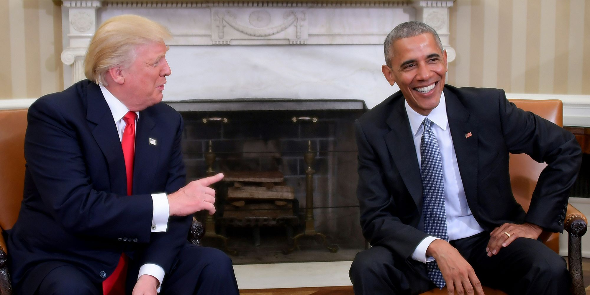 Donald Trump has cancelled his visit to the UK and blamed Obama