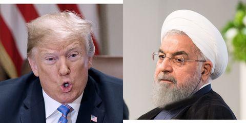 Donald Trump Hassan Rouhani