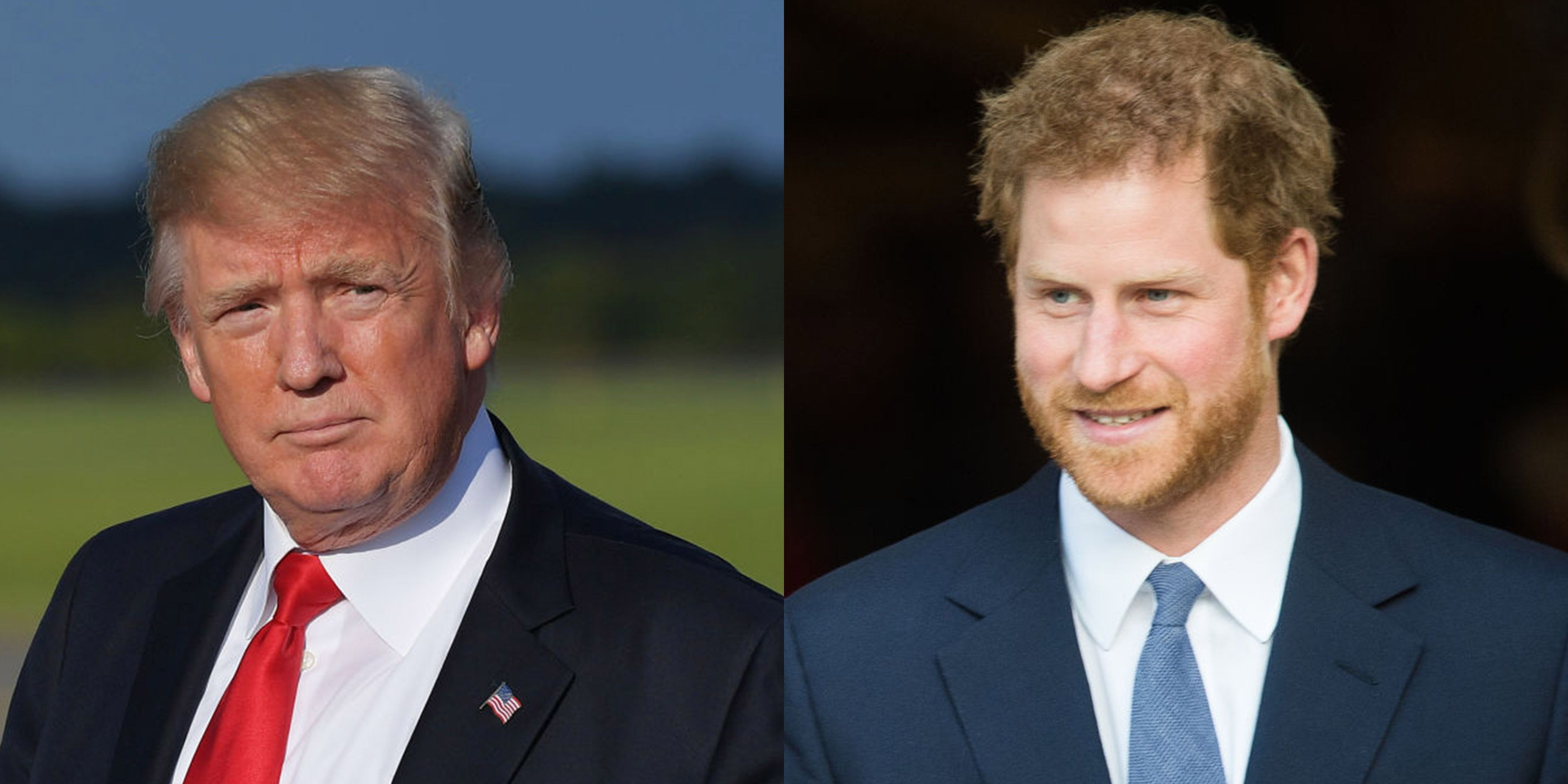 donald trump prince harry