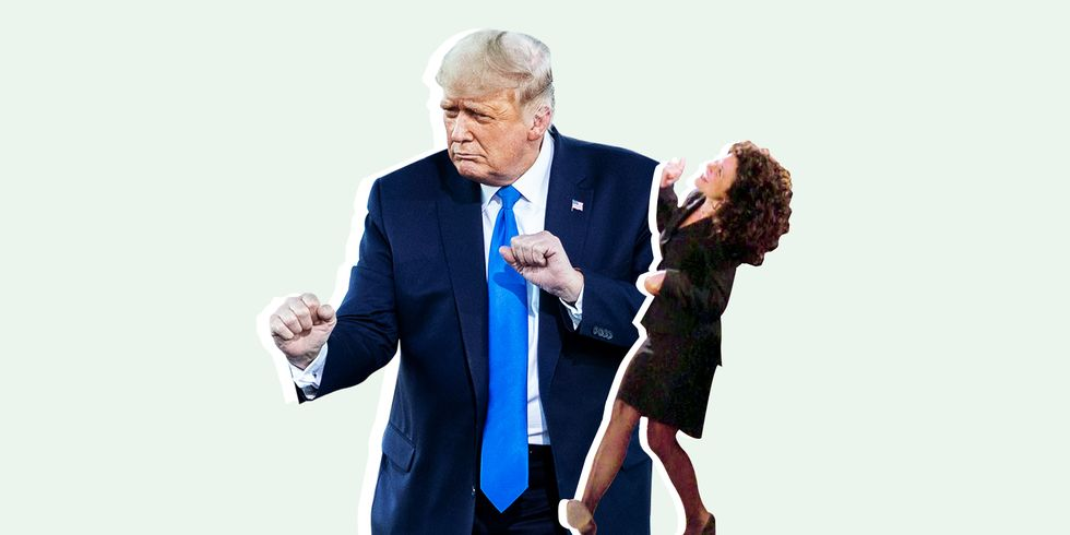 Donald Trump's Dancing Is So Bad Jason Alexander Compared it to Elaine on <em>Seinfeld</em> thumbnail