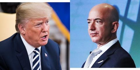 Donald Trump Doesnt Have Clue About My >> Trump S War On Amazon Bezos Washington Post Is Classic