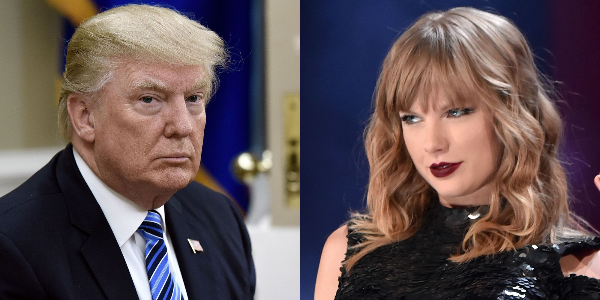 Donald Trump and Taylor Swift