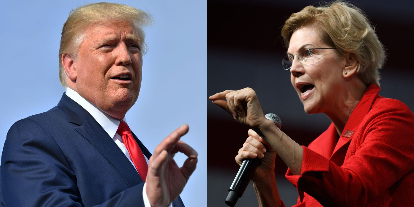 The President* Has Slurs for Native Peoples. Elizabeth Warren Has a Plan.