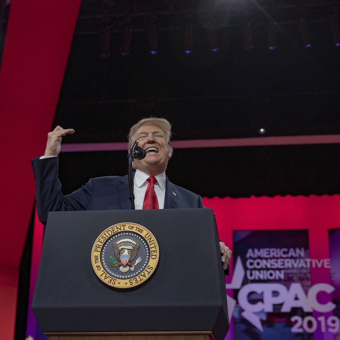 President Trump Addresses Conservative Political Action Conference