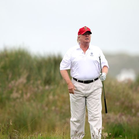 Donald Trump 'Won' Golf Club Championship After Stealing a Ball from the  Son of the Actual Champion