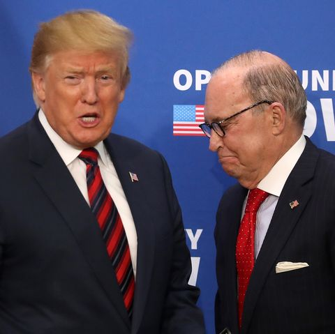 Donald Trump Doesnt Have Clue About My >> Trump Economic Adviser Larry Kudlow Admits President Is Wrong On