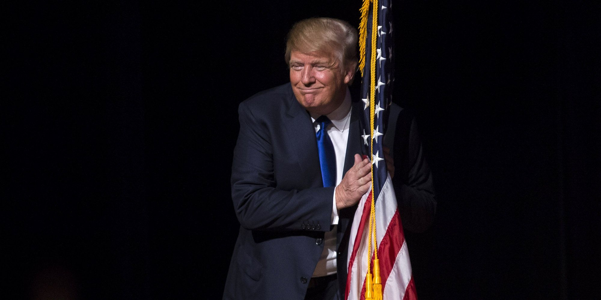Donald Trump Town Hall Meeting In Derry, NH