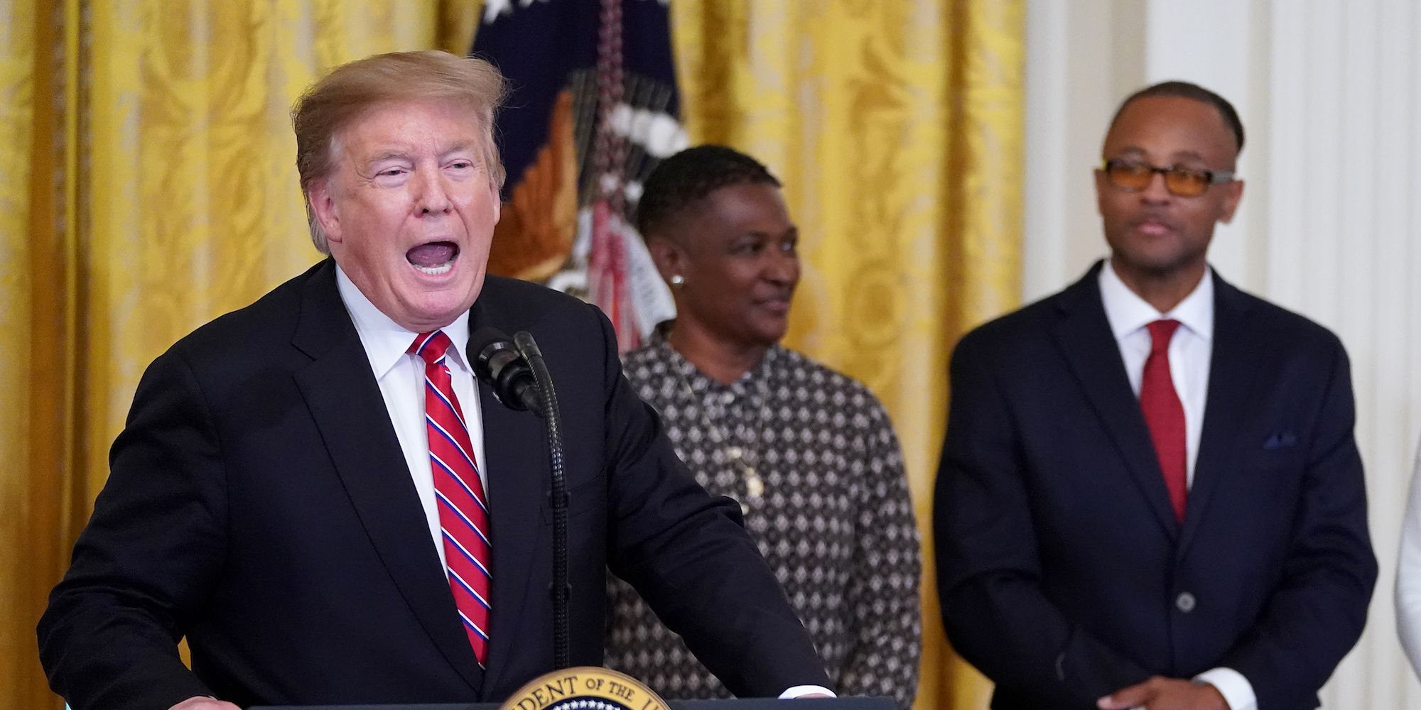 President Donald Trump Participates In Prison Reform Summit And First Step Act Celebration At The White House