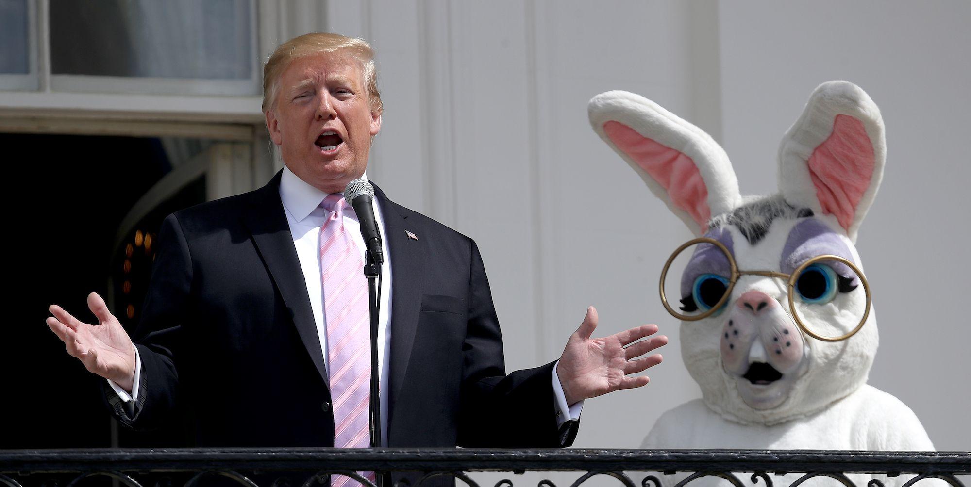President And Mrs Trump Host Annual White House Easter Egg Roll