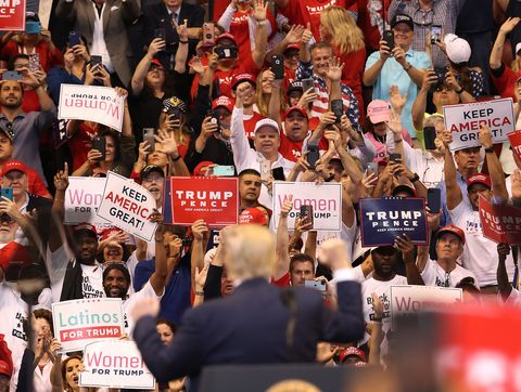 """Donald Trump Holds A """"Welcome Home"""" Rally In South Florida"""