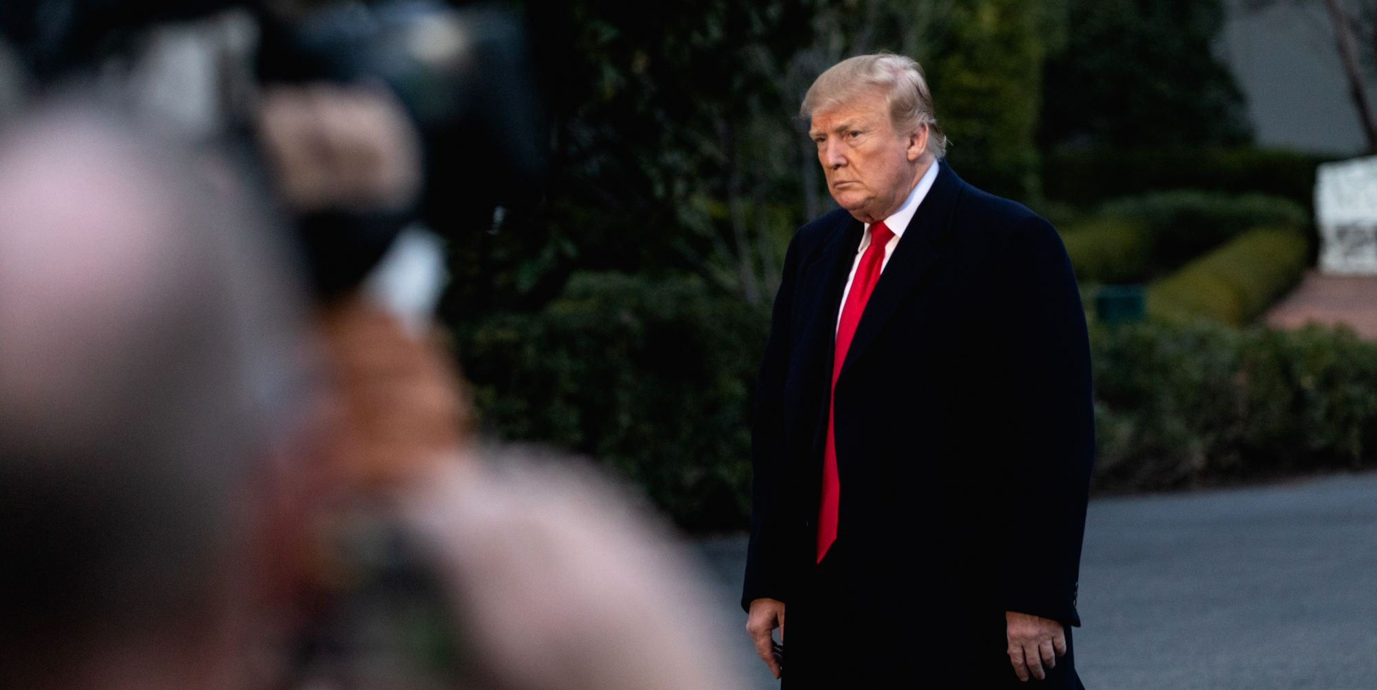 President Trump Returns To White House From Florida After Release Of AG Barr's Letter