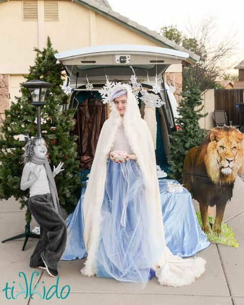 trunk or treat ideas the lion the witch and the wardrobe