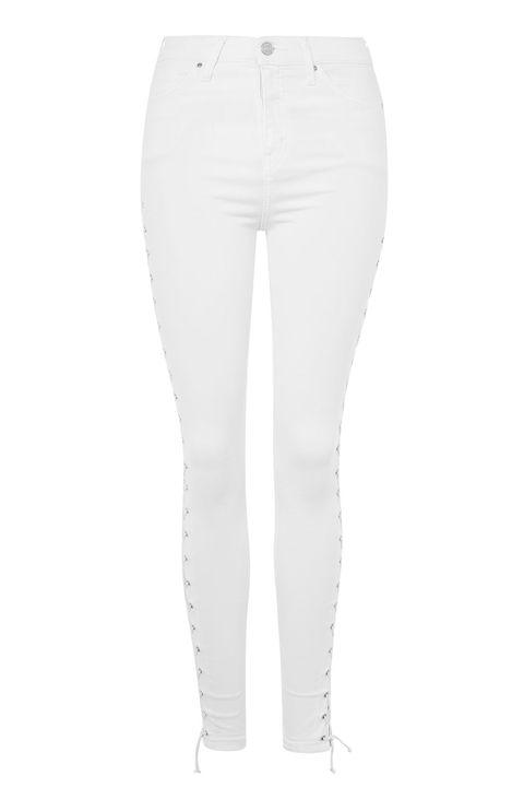 Clothing, Jeans, White, Denim, Trousers, Pocket, Leggings, Waist, sweatpant, Textile,