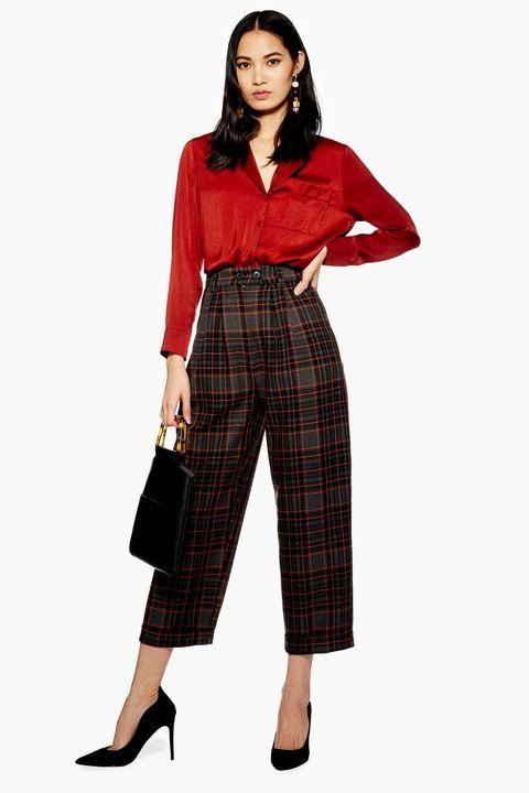 Stampa scozzese 2019, moda donna 2019, tendenza tartan, stampa check