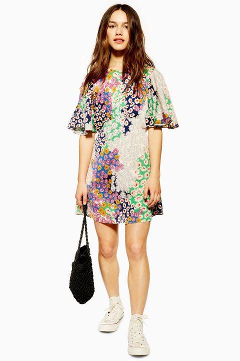 Topshop austin dress mini floral