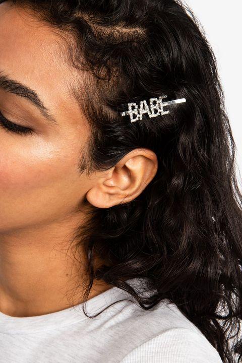 topshop babe diamante hair clip