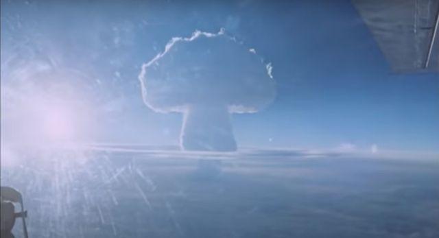 rusia desclasifica las imágenes de las pruebas de la tsar bomba, la bomba nuclear más poderosa de la historia