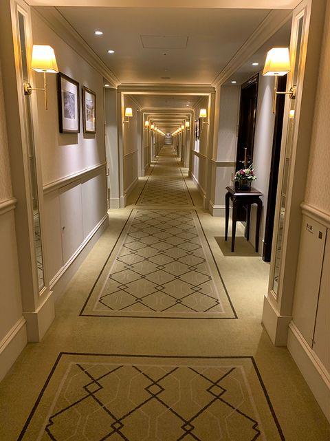 東京ステーションホテル廊下