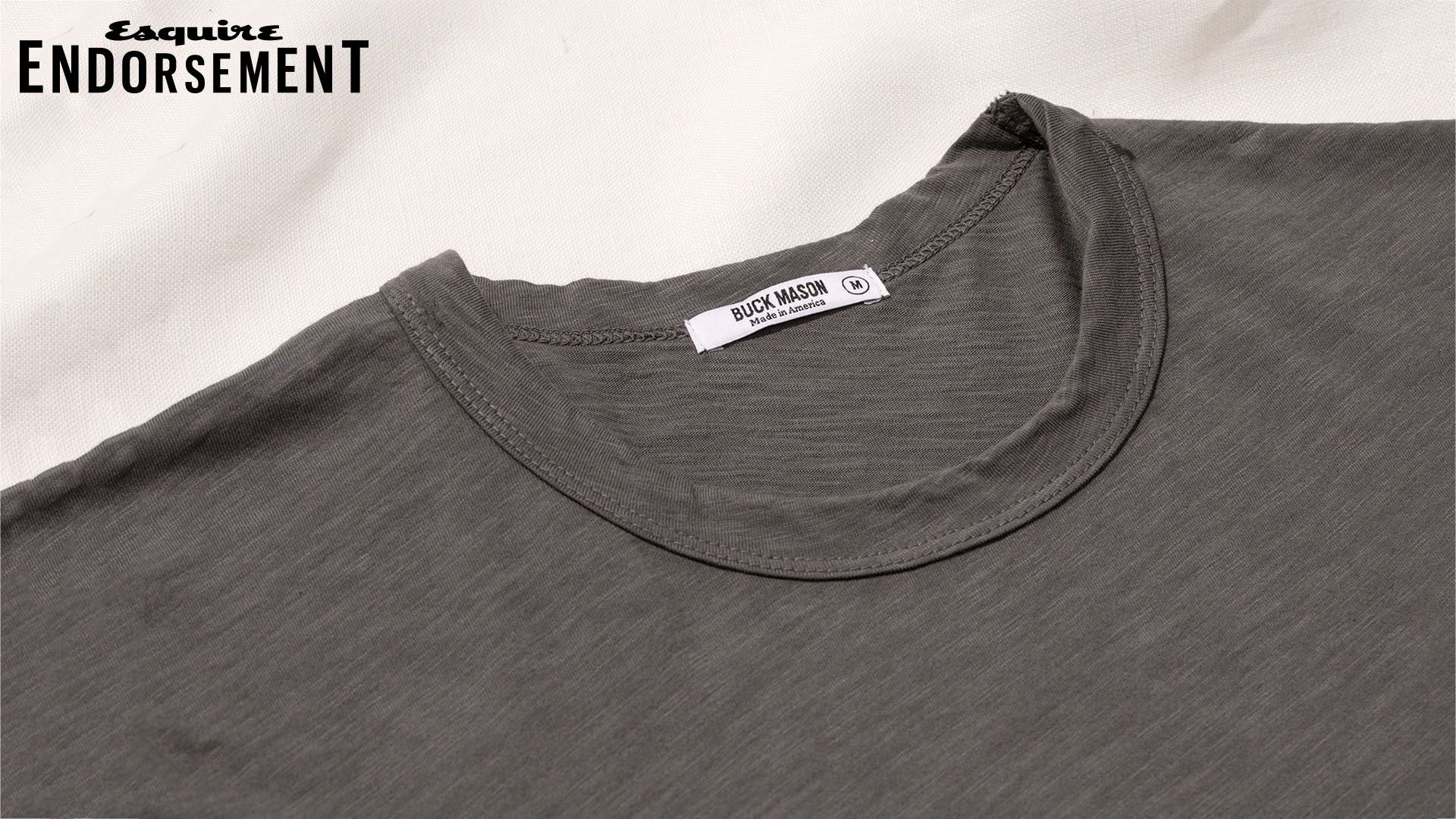 5d74e628bc76 Buck Mason Curved Hem Slub T-Shirt - The Elevated, Made-in-America T-Shirt  That's Surprisingly Affordable