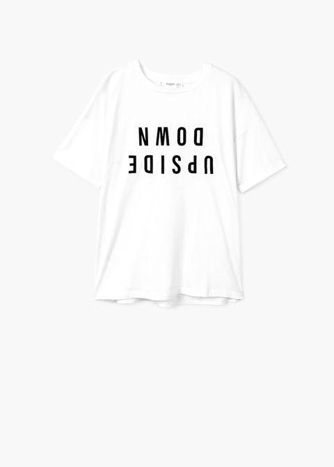 T-shirt cotone moda Primavera 2020 Mango