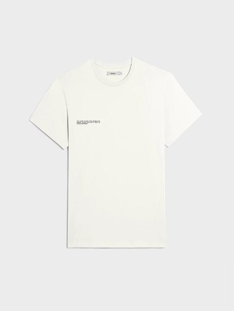 tshirt bianca primavera estate 2021 pangaia
