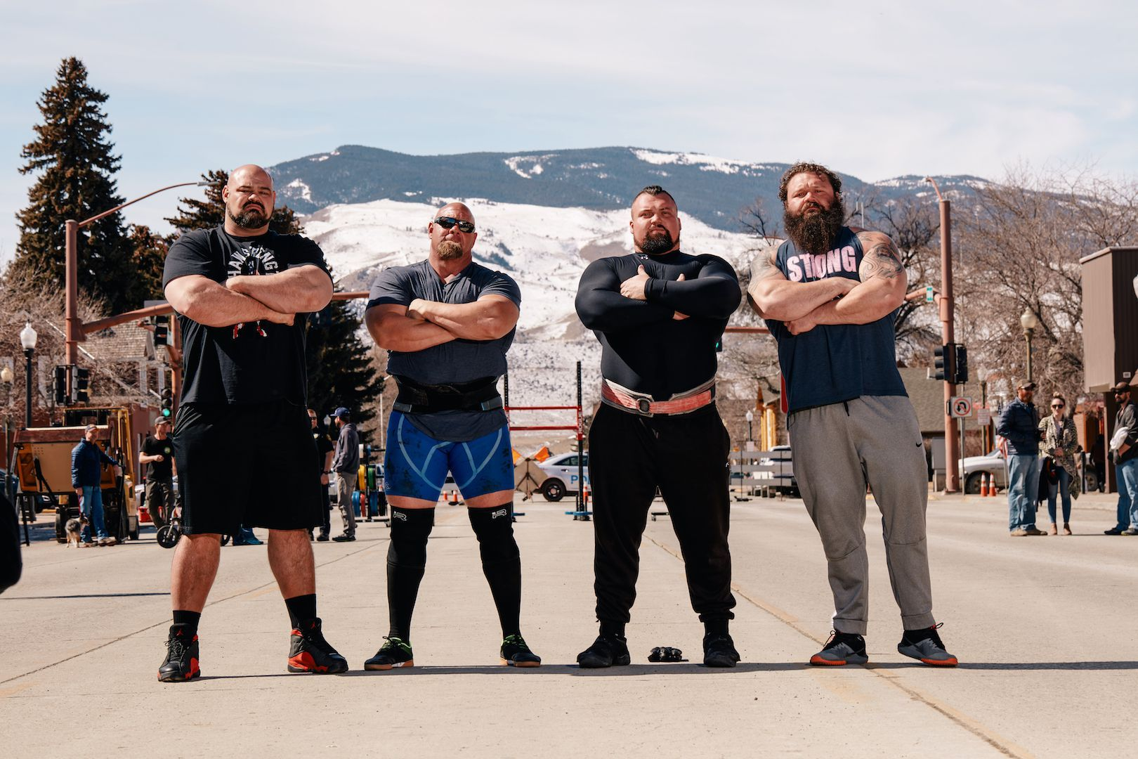 Brian Shaw and Eddie Hall Are Trying to Break the World's Most Legendary Strength Feats