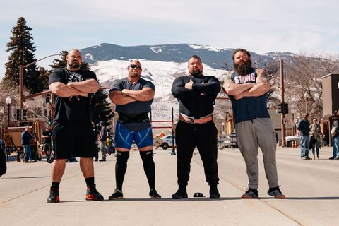 Brian Shaw and Eddie Hall's New Strongest Man in History TV Show