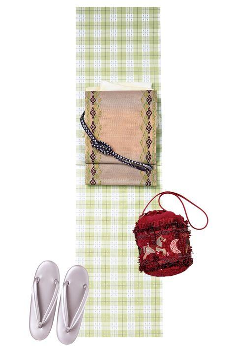 知花花織,紬,美しいキモノ