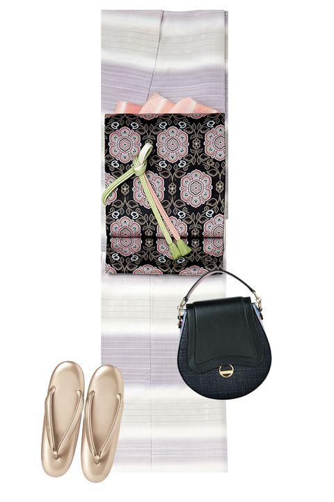 段熨斗目,紬,絵羽,絵羽紬,着物,美しいキモノ