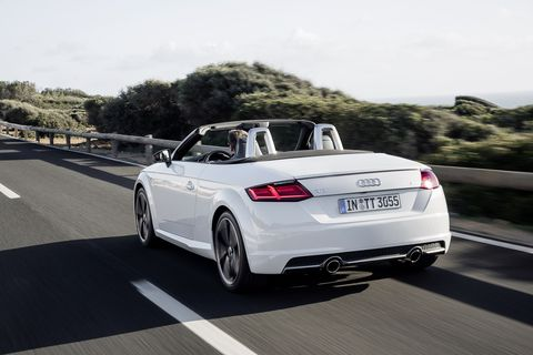 Land vehicle, Vehicle, Car, Audi, Automotive design, Personal luxury car, Audi tt, Convertible, Luxury vehicle, Sports car,
