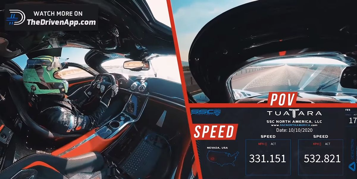 Watch the Shelby Supercars Tuatara Hit 331 mph!